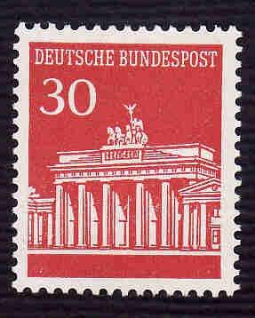 German MNH Scott #954 Catalog Value $.30