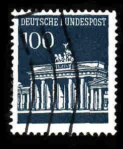 German Used Scott #956 Catalog Value $.60