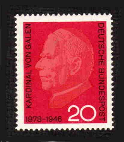 German MNH Scott #960 Catalog Value $.25