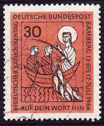 German Used Scott #961 Catalog Value $.30