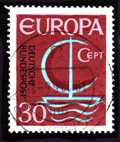 German Used Scott #964 Catalog Value $.25