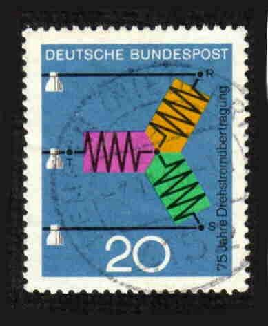 German Used Scott #965 Catalog Value $.25