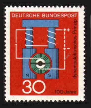 German MNH Scott #966 Catalog Value $.25