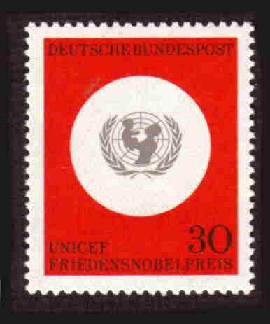 German MNH Scott #967 Catalog Value $.25