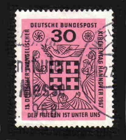 German Used Scott #972 Catalog Value $.30