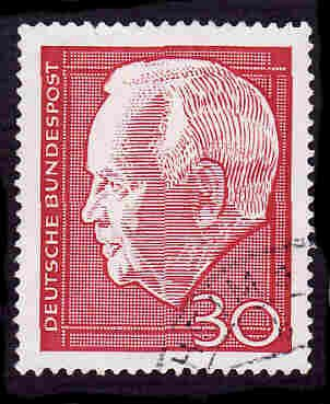 German Used Scott #974 Catalog Value $.30