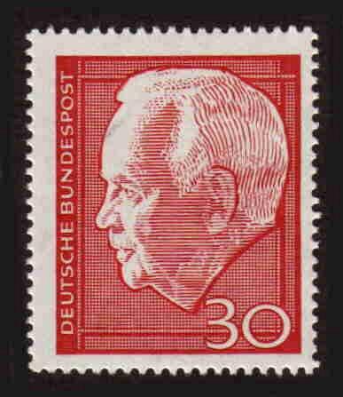 German MNH Scott #974 Catalog Value $.25
