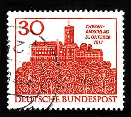 German Used Scott #976 Catalog Value $.40