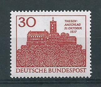 German MNH Scott #976 Catalog Value $.30