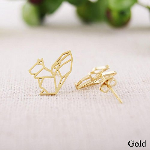 cute gold plated earring