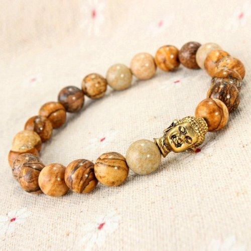 Men guanying Buddha beads bracelet