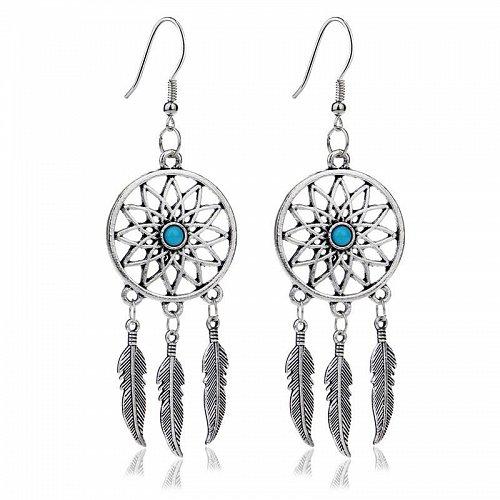 Women silver plated earring