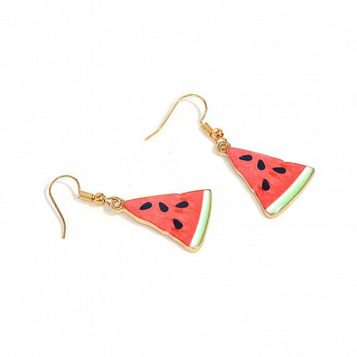Women cute fruit earring