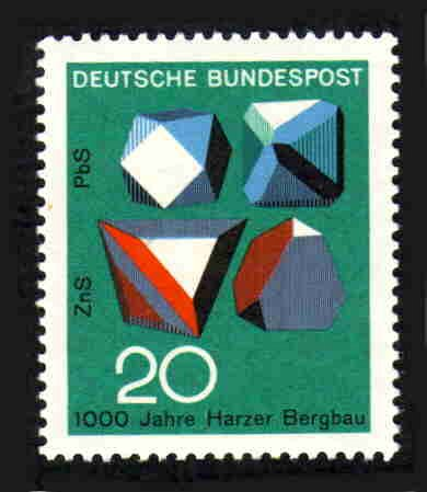 German MNH Scott #979 Catalog Value $.25