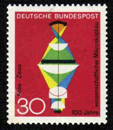 German MNH Scott #980 Catalog Value $.25