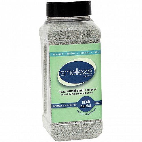 SMELLEZE Dead Animal Deodorizer Granules-2 lb: Rid Dead Rat & Mice Smell