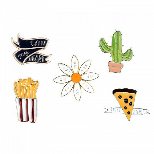 5pcs cute sweater brooch pin jewelry