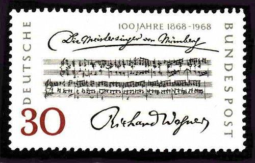 German MNH Scott #987 Catalog Value $.25