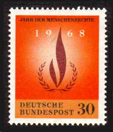 German MNH Scott #992 Catalog Value $.25
