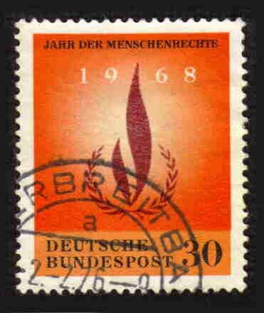 German Used Scott #992 Catalog Value $.30