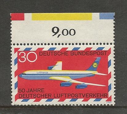 German MNH Scott #994 Catalog Value $.60