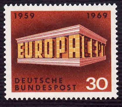 German MNH Scott #997 Catalog Value $.40