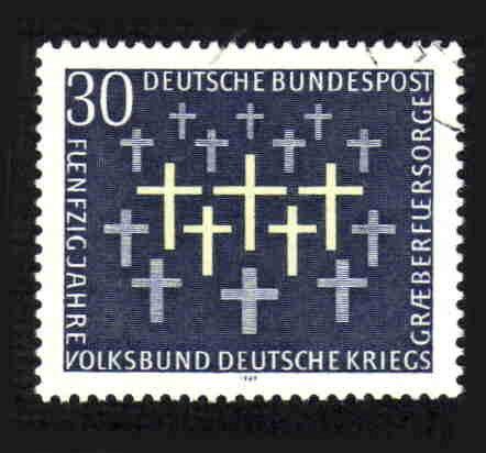 German Used Scott #999 Catalog Value $.30