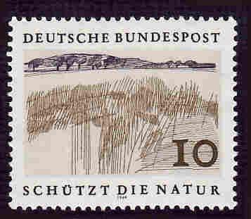 German MNH Scott #1000 Catalog Value $.25