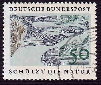 German Used Scott #1003 Catalog Value $.50