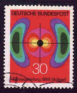 German Used Scott #1005 Catalog Value $.30