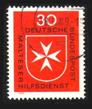 German Used Scott #1006 Catalog Value $.30