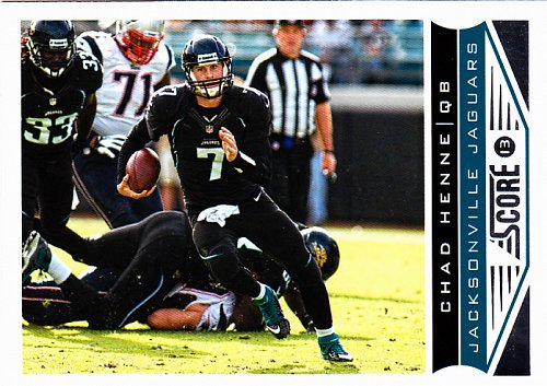 Chad Henne #101 - Jaguars 2013 Score Football Trading Card