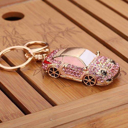 Men car keychain key ring women accessories