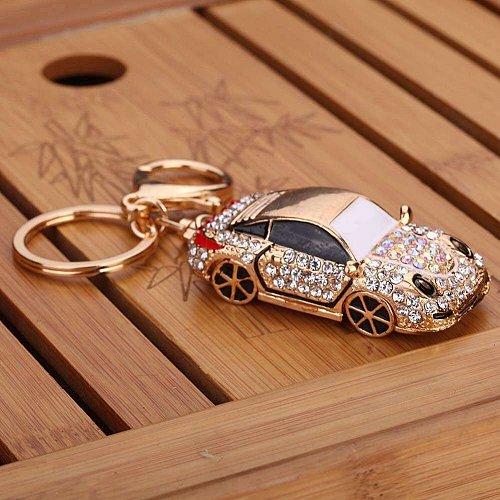 Women car keychain key ring accessories