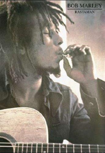 Bob Marley Rastaman VG 1990 Argentina Reggae Poster