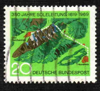 German Used Scott #1009 Catalog Value $.30