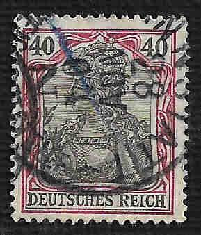 German Used Scott #72 Catalog Value $1.00