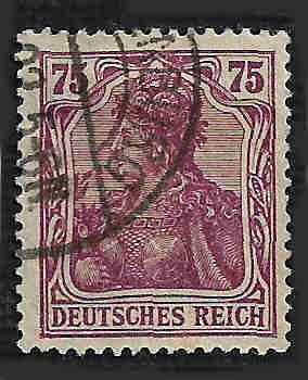 German Used Scott #127 Catalog Value $2.25