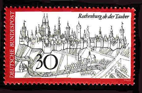 German MNH Scott #1010 Catalog Value $.45