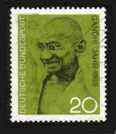 German Used Scott #1012 Catalog Value $.30