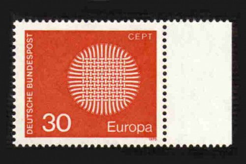 German MNH Scott #1019 Catalog Value $.30