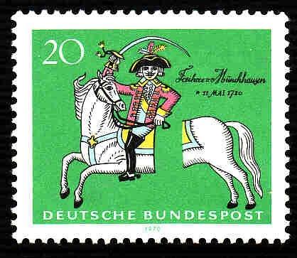 German Hinged Scott #1020 Catalog Value $.35
