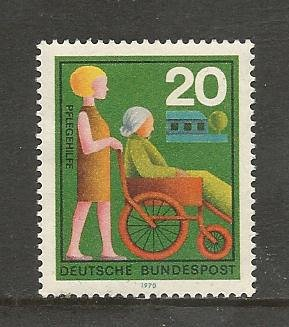 German Hinged Scott #1024 Catalog Value $.25