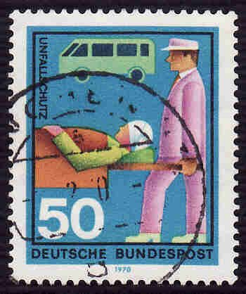 German Used Scott #1026 Catalog Value $.35