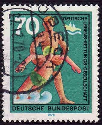 German Used Scott #1027 Catalog Value $.75