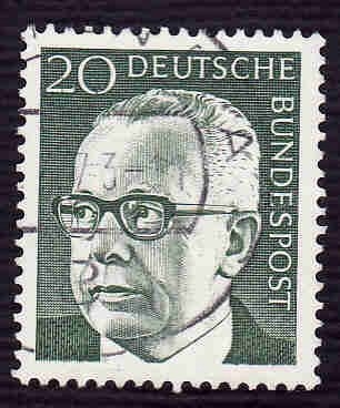 German Used Scott #1030 Catalog Value $.25