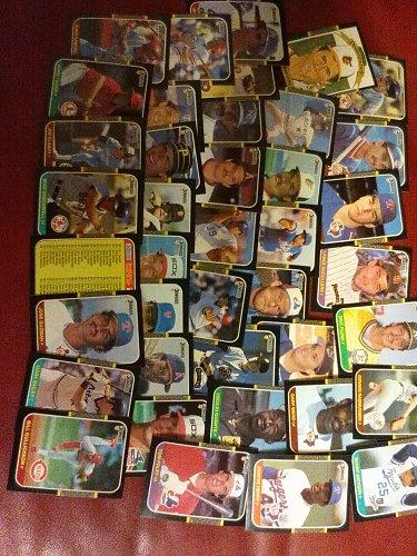 wholesale lot 1987 donruss baseball 40 cards