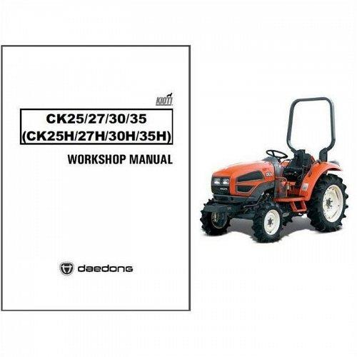 kioti ck25h ck27h ck30h ck35h ck25 ck27 ck30 ck35 tractor service rh unisquare com Kioti Animal kioti dk 35 shop manual