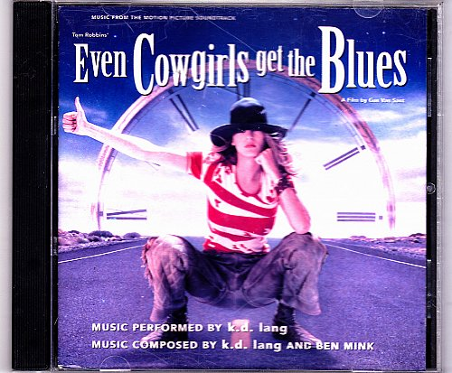 Even Cowgirls Get the Blues by K.D. Lang CD 1993 - Very Good