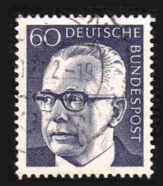 German Used Scott #1034 Catalog Value $.25